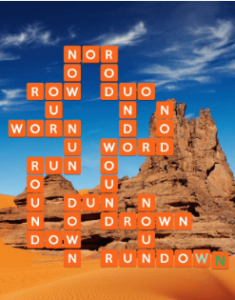 Wordscapes Rock 13 Level 749 answers