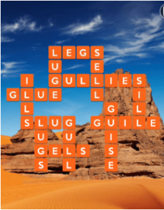 Wordscapes Rock 3 Level 739 answers