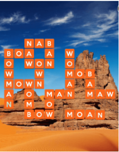 Wordscapes Rock 5 Level 741 answers