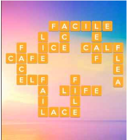 Wordscapes Sun 5 Level 229 answers