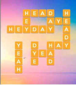 Wordscapes Sun 7 Level 231 answers