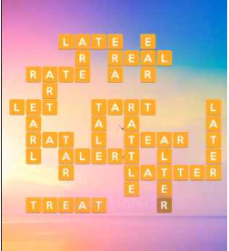 Wordscapes Sun 8 Level 232 answers