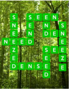 Wordscapes Vine 14 Level 654 answers