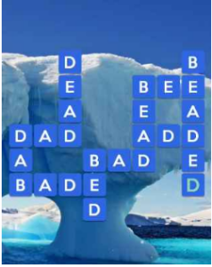 Wordscapes White 1 Level 449 answers