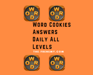 word cookies answers daily all levels updated