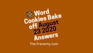 word cookies august 23 2020 answers daily