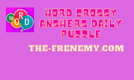 word crossy answers daily puzzle