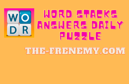 word stacks answers daily puzzle