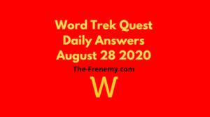 word trek quest august 28 2020 answers daily