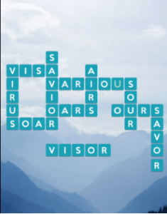 Wordscapes Air 13 Level 1021 answers