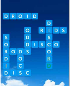 Wordscapes Air 6 Level 4038 answers