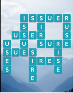 Wordscapes Air 9 Level 1017 answers
