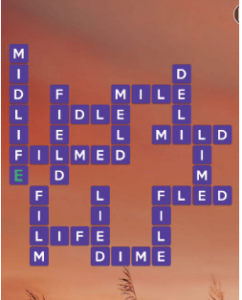 Wordscapes Amber 16 Level 960 answers