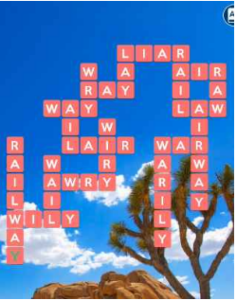 Wordscapes Arch 14 Level 1598 answers