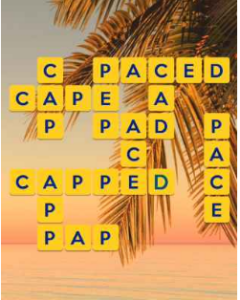 Wordscapes Beach 1 Level 2657 answers