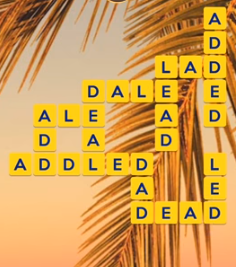 Wordscapes Beach 15 Level 2671 answers