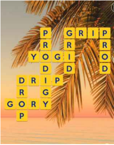 Wordscapes Beach 3 Level 2659 answers