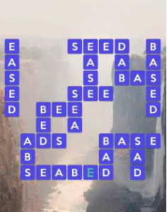 Wordscapes Below 11 Level 3371 answers