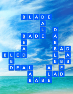 Wordscapes Blue 15 Level 863 answers
