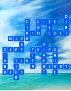 Wordscapes Blue 9 Level 857 answers