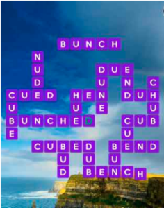 Wordscapes Bluff 16 Level 3440 answers