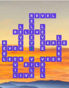 Wordscapes Bright 12 Level 1708 answers