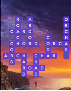 Wordscapes Bright 16 Level 2112 answers
