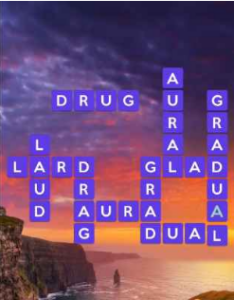 Wordscapes Bright 8 Level 2104 answers