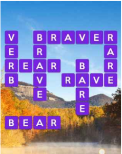 Wordscapes Brood 6 Level 1734 answers