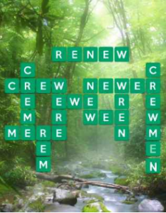Wordscapes Brook 4 Level 1492 answers