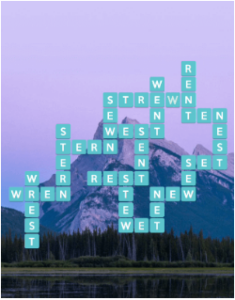 Wordscapes Calm 11 Level 971 answers