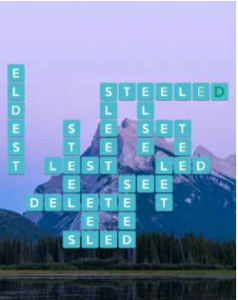 Wordscapes Chill 6 Level 3206 answers