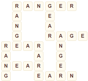 Wordscapes Cliff 3 Level 3315 answers