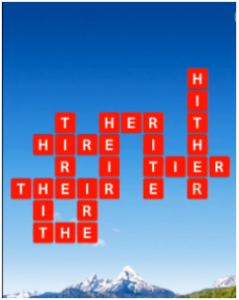 Wordscapes Climb 7 Level 1047 answers