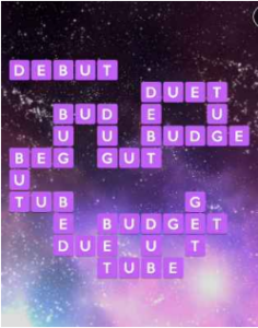 Wordscapes Cosmo 5 Level 1365 answers