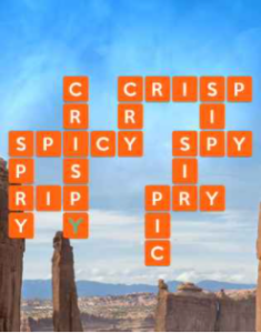 Wordscapes Crag 05 Level 4485 Answers