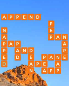 Wordscapes Crag 4 Level 4724 Answers
