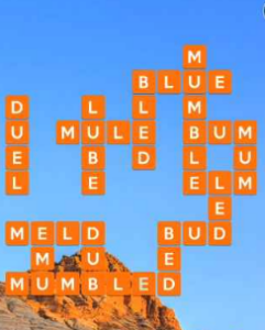 Wordscapes Crag 6 Level 4726 Answers