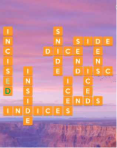 Wordscapes Crest 16 Level 4544 Answers
