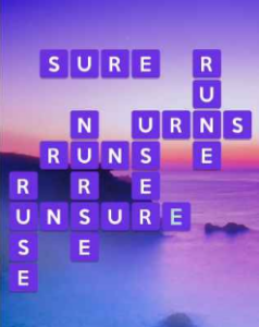 Wordscapes Dawn 10 Level 1162 answers