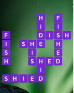 Wordscapes Depth 07 Level 4455 Answers