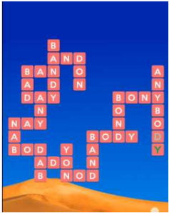 Wordscapes Dry 11 Level 2395 answers