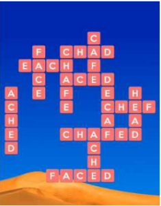 Wordscapes Dry 8 Level 2392 answers