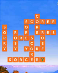 Wordscapes Erode 16 Level 1552 answers