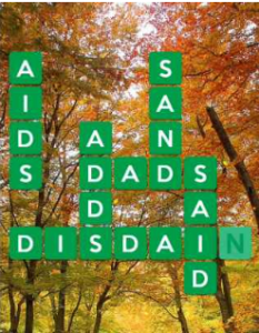 Wordscapes Fall 10 Level 2282 answers