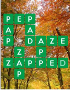 Wordscapes Fall 11 Level 2283 answers