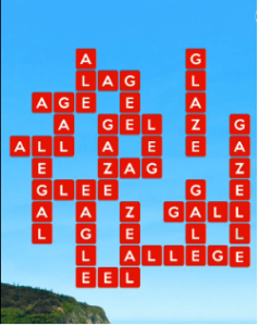 Wordscapes Fall 12 Level 1084 answers