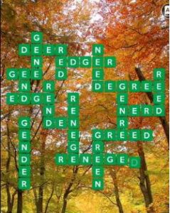 Wordscapes Fall 16 Level 2288 answers