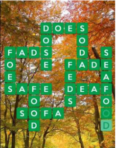 Wordscapes Fall 2 Level 2274 answers