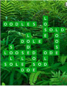 Wordscapes Fern 4 Level 3844 answers